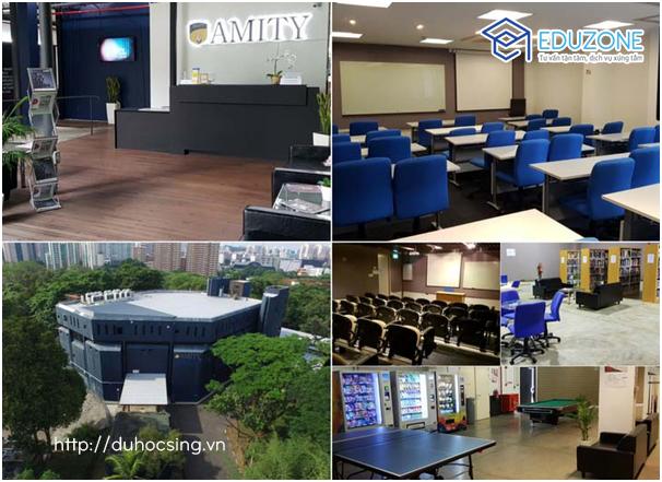 Cở sở vật chất trường Amity Singapore