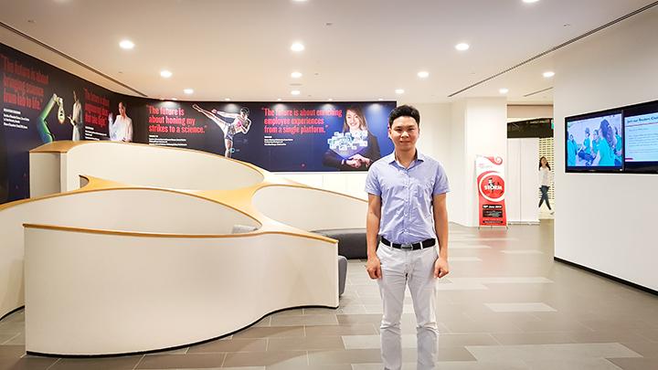 Anh Nguyễn Đăng Hiên - Giám đốc Eduzone thăm trường PSB