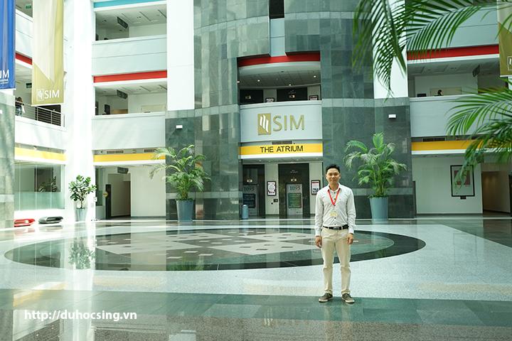 Anh Nguyễn Đăng Hiển - Giám đốc Eduzone thăm SIM Singapore T6/2017