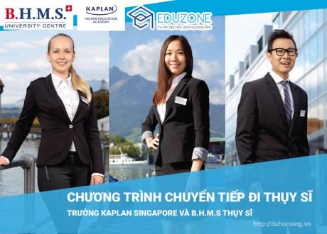 Chương trình chuyển tiếp đi Thụy Sĩ chuyên ngành DLKS của Kaplan Singapore