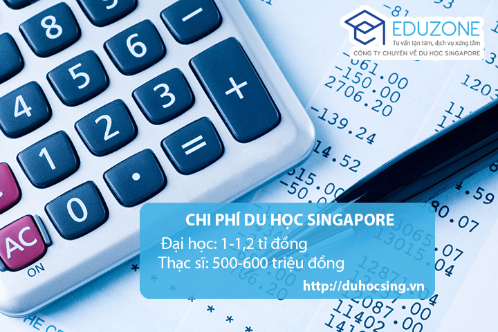 Chi phí du học Singapore, chi phí du học singapore tự túc, du học singapore giá rẻ