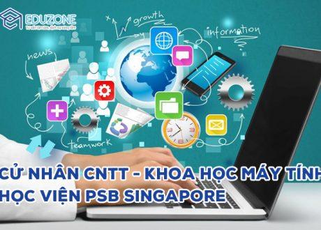 Cử nhân Khoa học máy tính – Trường PSB Singapore