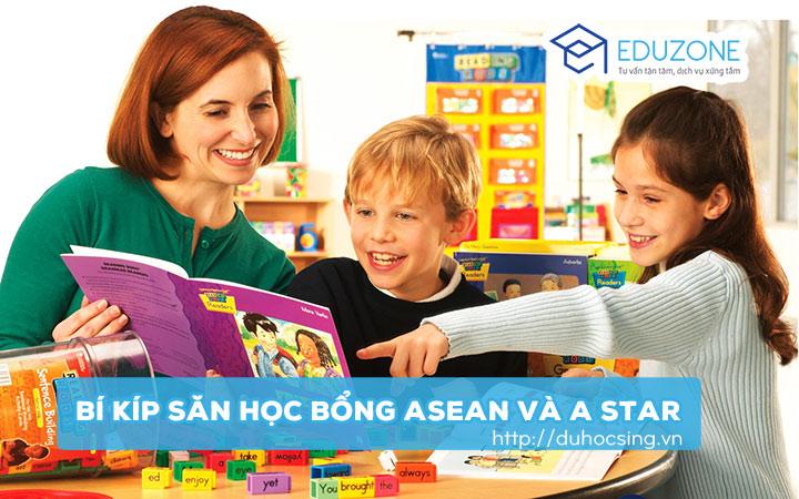 học bổng asean và astar du học singapore
