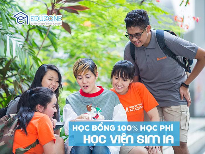 Học bổng 100% học phí học phổ thông trung học tại SIM IA