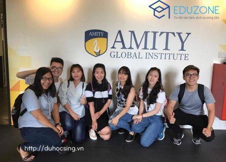 Tôi đã đạt học bổng của Amity Singapore như thế nào?
