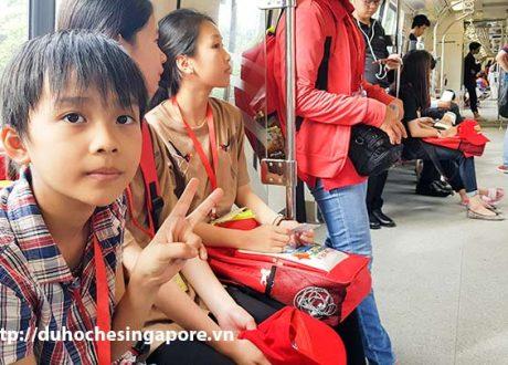 Du học hè Singapore phụ huynh có được đi cùng?