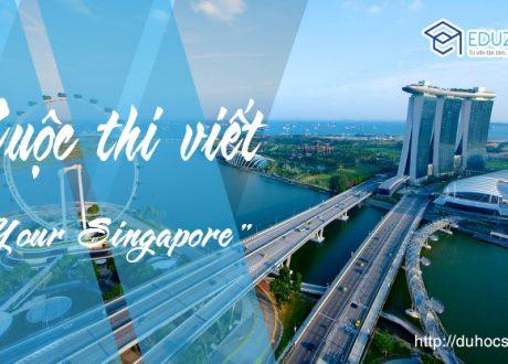 "Eduzone tổ chức cuộc thi Viết Online ""Your Singapore"""
