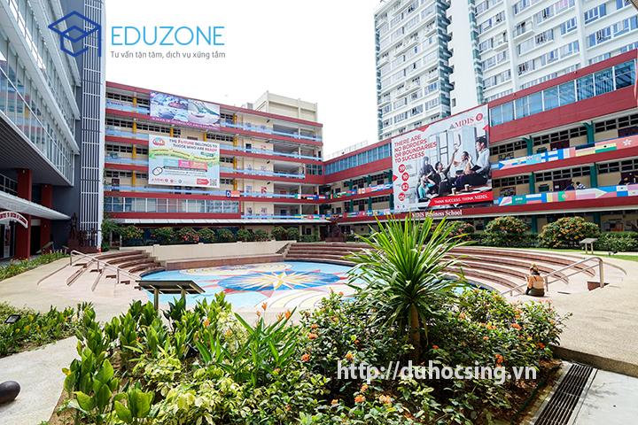 Một góc khuôn viên MDIS Singapore