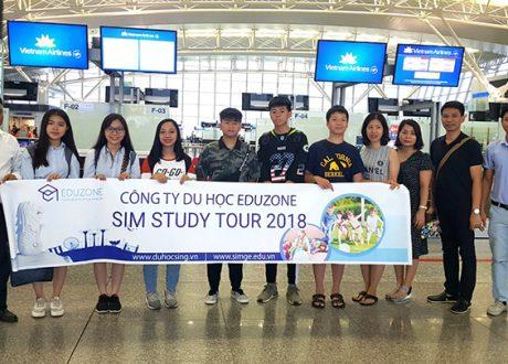 Hội thảo du học hè Singapore tại Học viện SIM – SIM Study tour 2019