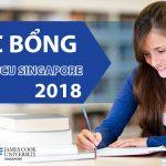 Học bổng Đại học James Cook Singapore 2018
