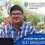 Đại học James Cook Singapore tuyển sinh kỳ nhập học  tháng 11/2018