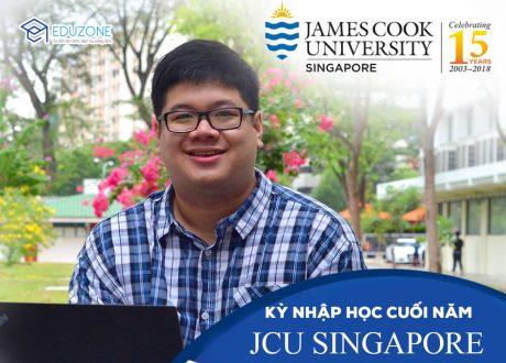 Đại học James Cook Singapore tuyển sinh kỳ nhập học tháng 2 và 3/2020