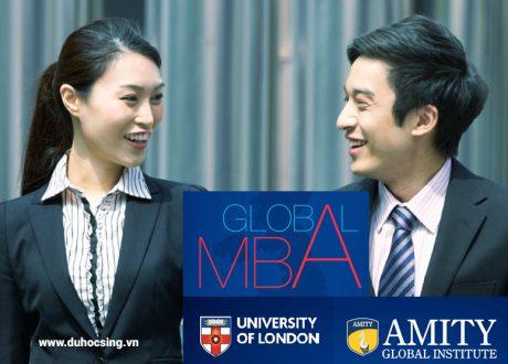 Khóa học MBA Global lấy bằng của Đại học London trường Amity Singapore