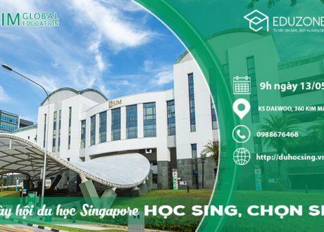 """Ngày hội du học Singapore """"Học Sing chọn SIM"""""""