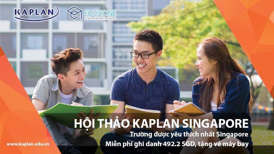 Định hướng tương lai cùng Học viện Kaplan Singapore