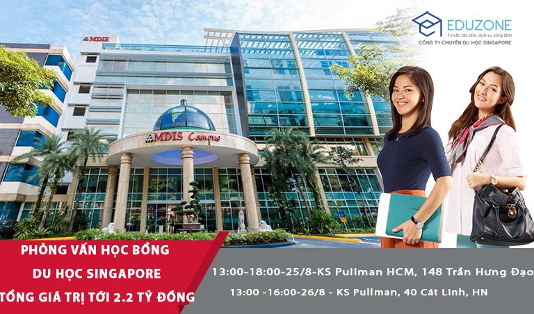 Phỏng vấn học bổng du học Singapore trường MDIS