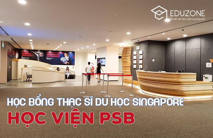 Học bổng du học Singapore trường PSB