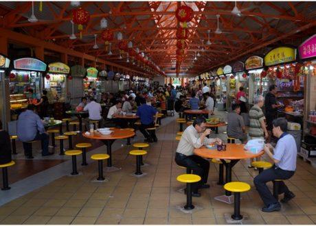 5 địa điểm ăn uống bình dân ở Singapore