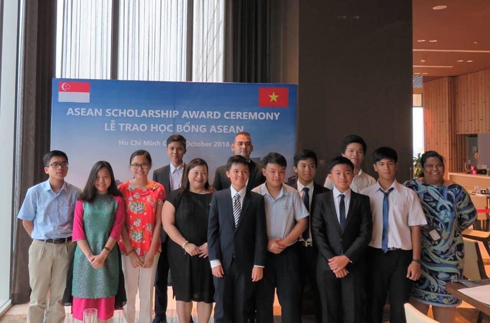 Kết quả học bổng ASEAN niên khóa 2018-2019