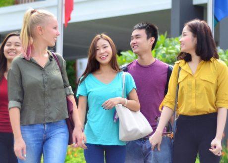 Khóa học tiếng Anh của Đại học James Cook Singapore