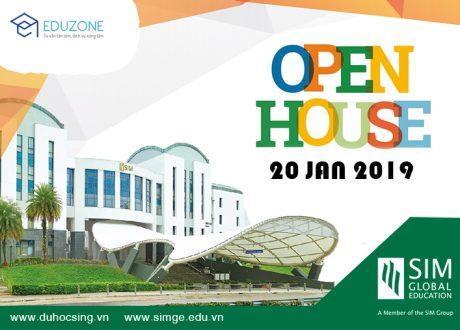 Open House – Ngày hội Du học Học SING chọn SIM