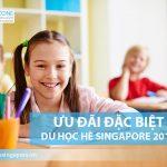 Ưu đãi đặc biệt đăng ký sớm du học hè Singapore 2019