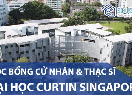 Học bổng Đại học Curtin Singapore kỳ nhập học tháng 2/2020