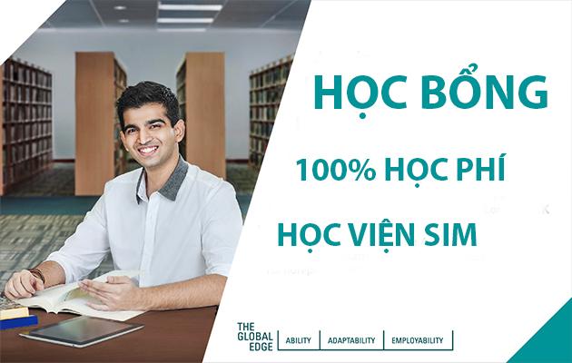 Học bổng 100% học phí tại Học viện SIM kỳ nhập học tháng 10/2020