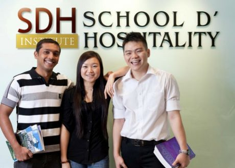 Giới thiệu học viện SDH Singapore