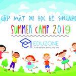 Thông báo Lịch gặp mặt đoàn Du học hè Singapore 2019