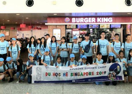Năm 2020 Eduzone có những tour du học hè Singapore nào?