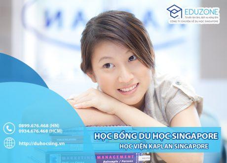 Học bổng lên tới 50% học phí của Kaplan Singapore nhập học T10,12/2020