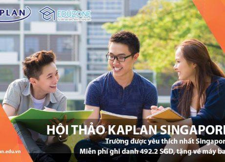 """Hội thảo """"Lộ trình học Đại học khi chưa có bằng THPT tại Kaplan Singapore"""""""