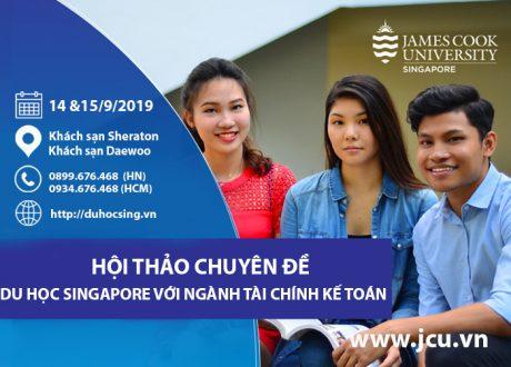"""Hội thảo chuyên đề """"Tìm hiểu nhóm ngành Tài chính, Kế toán tại Singapore"""""""