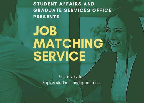Kaplan Singapore cung cấp dịch vụ tìm việc làm cho sinh viên sau khi ra trường