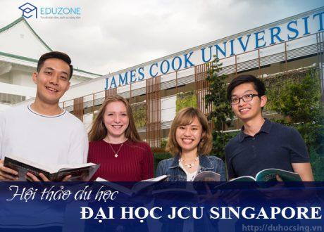 Hội thảo Tìm hiểu Đại học James Cook Singapore 2021