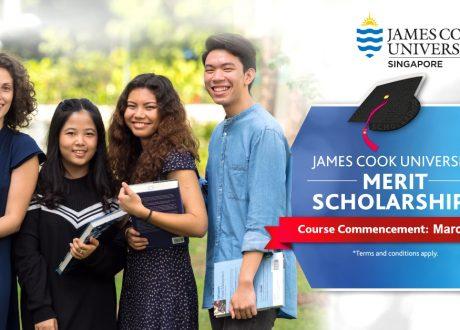 Học bổng ĐH James Cook Singapore 2020 kỳ nhập học tháng 3/2020