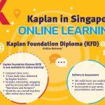 Khóa học online của Kaplan Singapore – Học tại nhà lấy bằng chuẩn quốc tế