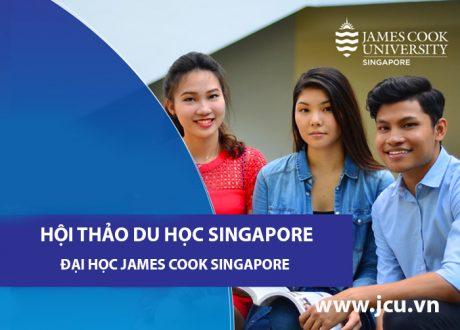 """Hội thảo """"Cơ hội cuối cho học bổng Quý IV/2020 của trường ĐH Công lập James Cook Singapore"""""""