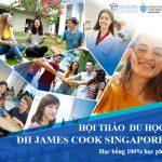 """Hội thảo """"Tìm hiểu Đại học James Cook Singapore 2021"""""""