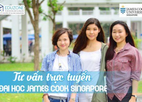 Tư vấn trực tuyến trường Đại học James Cook Singapore 2020/ 2021