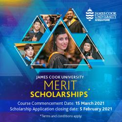 Học bổng ĐH James Cook Singapore 2021 kỳ nhập học tháng 7/2021