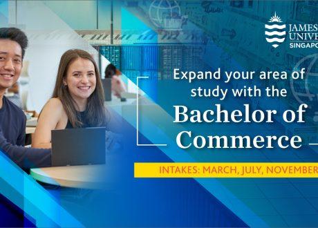 Hỏi đáp trực tuyến: Tìm hiểu ngành Commerce tại JCU Singapore