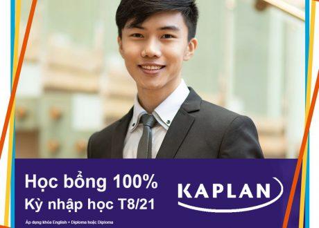 Học bổng 100% học phí tại Học viện Kaplan Singapore kỳ tháng 8/2021