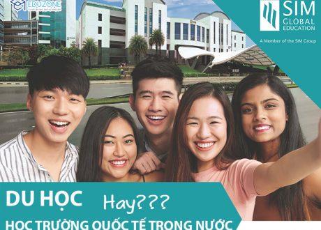 Hội thảo trực tuyến: Nên học trường quốc tế tại Việt Nam hay đi Du học?