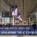Hội thảo: Cập nhật thủ tục bay và nhập cảnh vào Singapore 10/2021